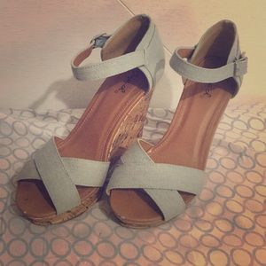 Women Qupid wedges heels